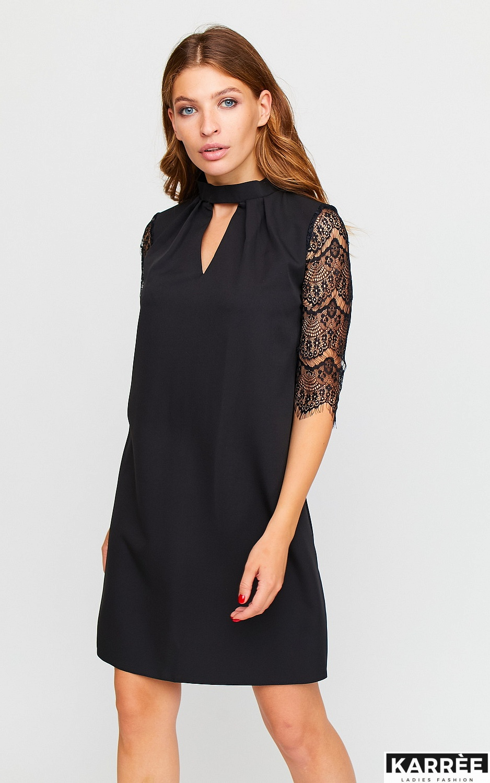 Платье Кристен, Черный - фото 3