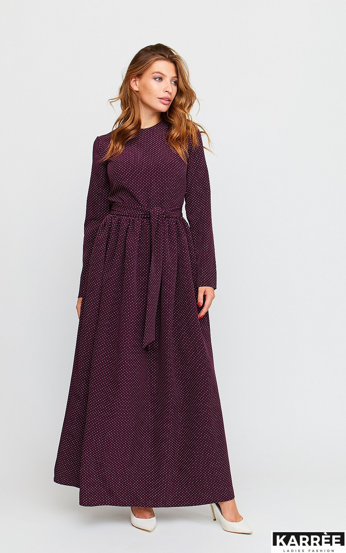 Платье Мадлен, Бургунди - фото 2