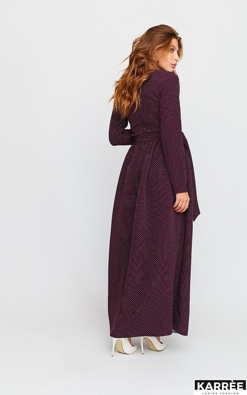 Платье Мадлен, Бургунди - фото 4