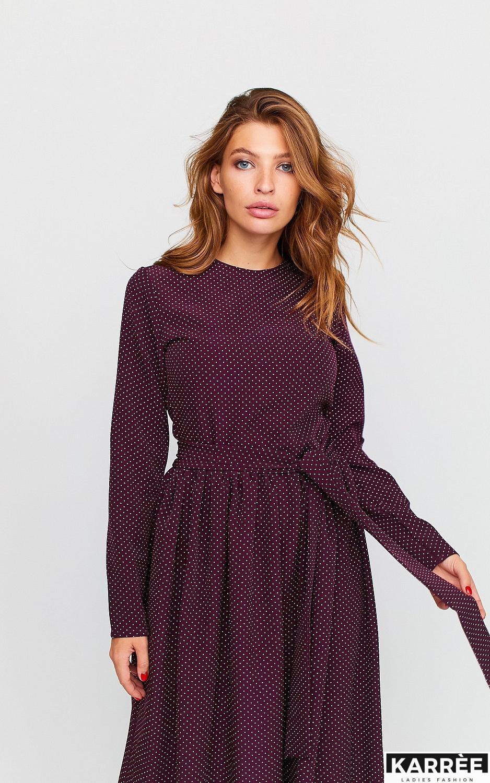 Платье Мадлен, Бургунди - фото 3