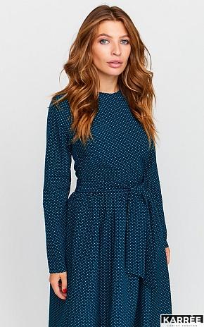 Платье Мадлен, Темно-зеленый - фото 1