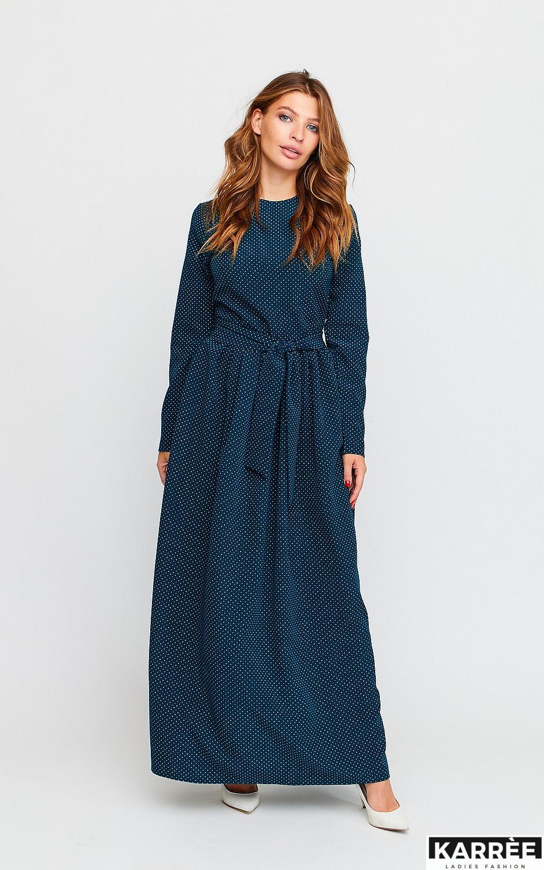 Платье Мадлен, Темно-зеленый - фото 3