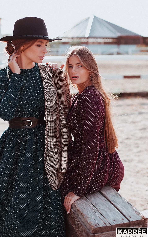 Платье Мадлен, Темно-зеленый - фото 6