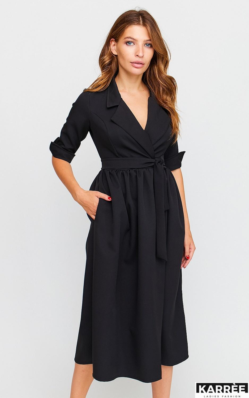 Платье Мэй, Черный - фото 2