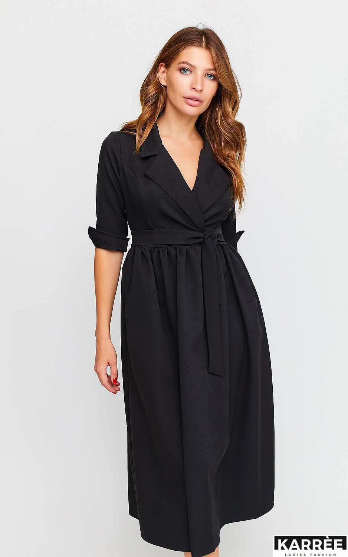 Платье Мэй, Черный - фото 3