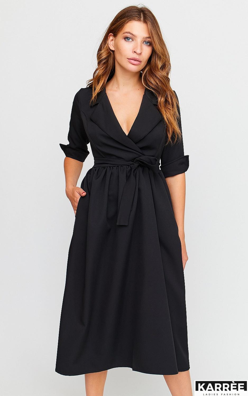 Платье Мэй, Черный - фото 4