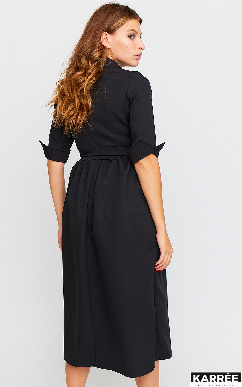 Платье Мэй, Черный - фото 5