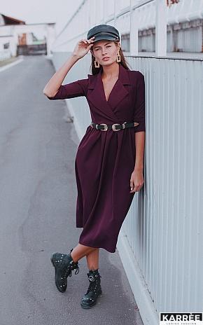 Платье Мэй, Бургунди - фото 1