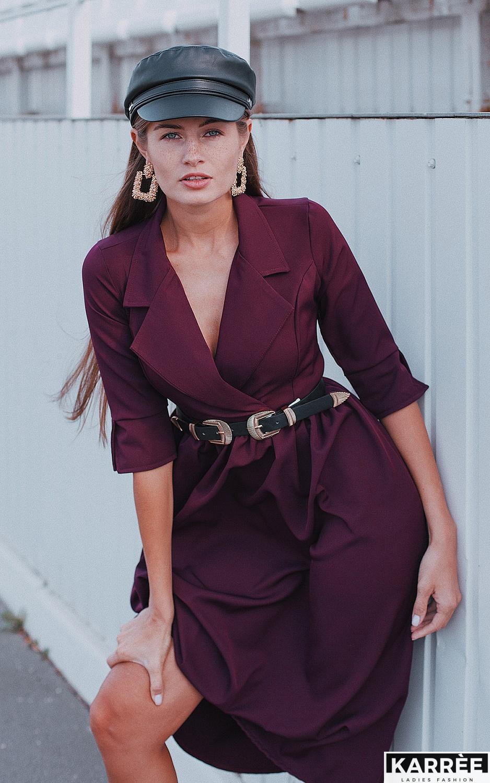 Платье Мэй, Бургунди - фото 2