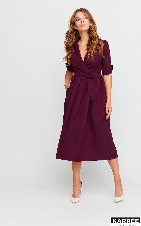 Платье Мэй, Бургунди - фото 3