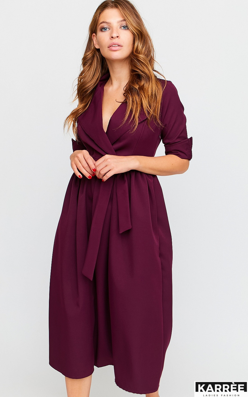 Платье Мэй, Бургунди - фото 5