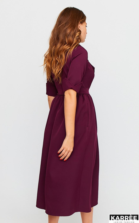 Платье Мэй, Бургунди - фото 6
