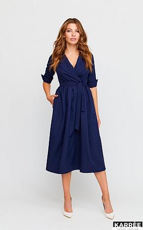 Платье Мэй, Темно-синий - фото 1