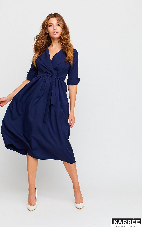 Платье Мэй, Темно-синий - фото 2