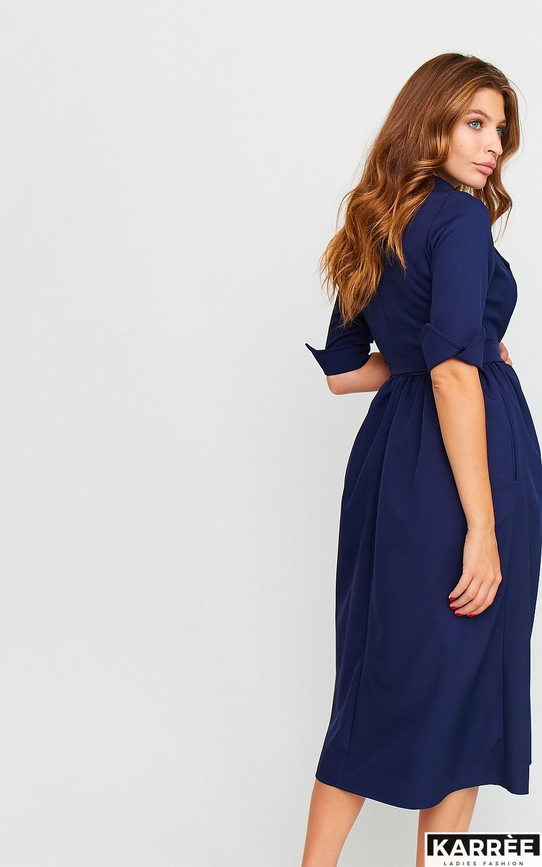 Платье Мэй, Темно-синий - фото 4