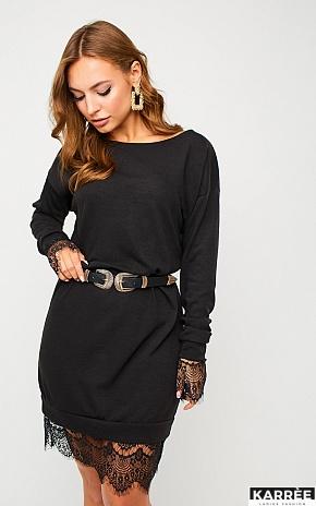 Платье Сантос, Черный - фото 1