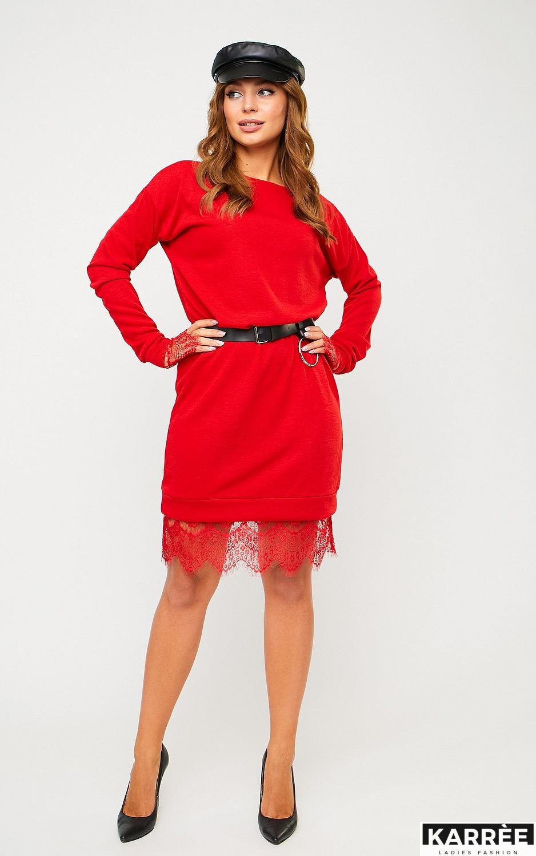 Платье Сантос, Красный - фото 3