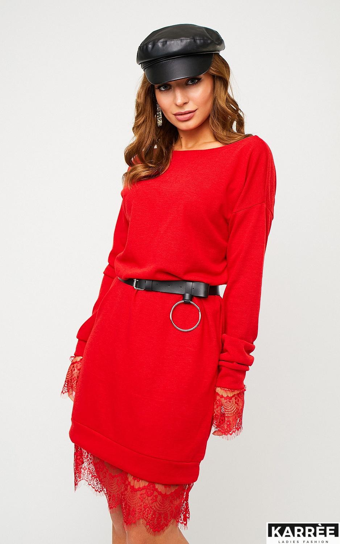 Платье Сантос, Красный - фото 2