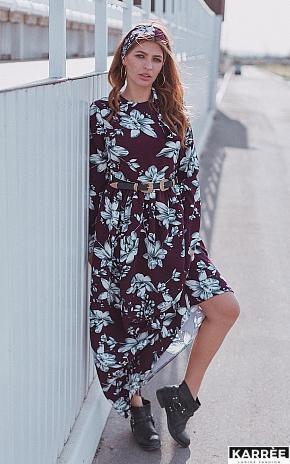 Платье Илла, Марсала - фото 1