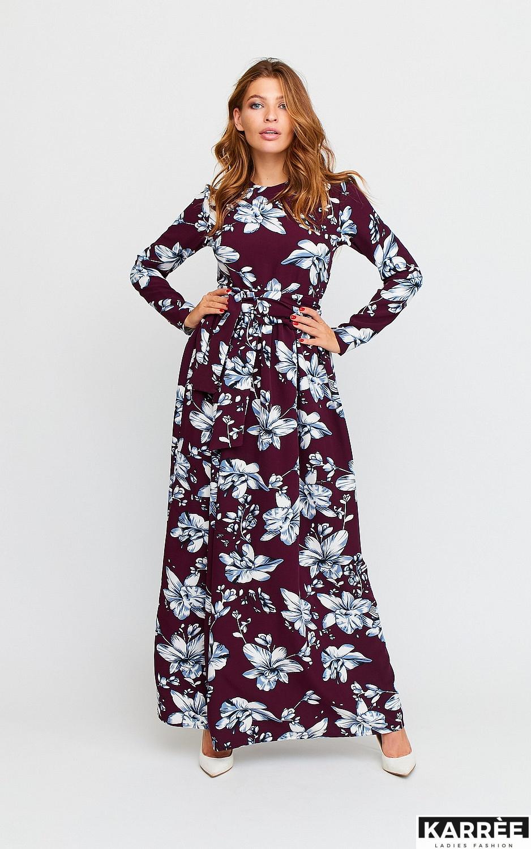 Платье Илла, Марсала - фото 3