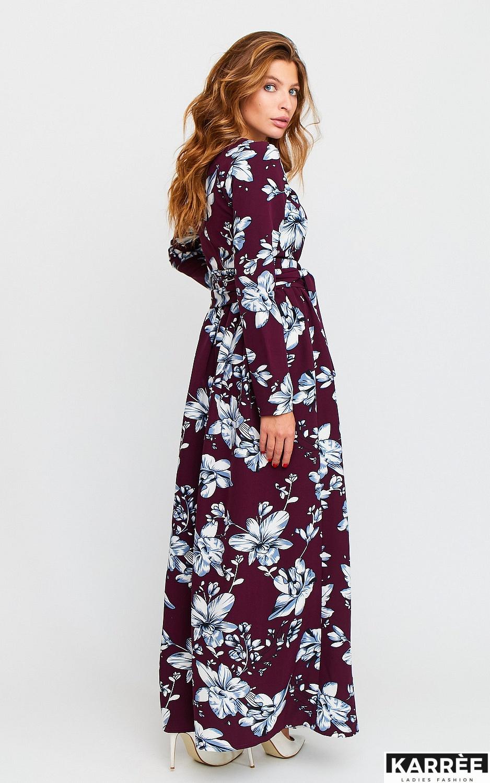 Платье Илла, Марсала - фото 5