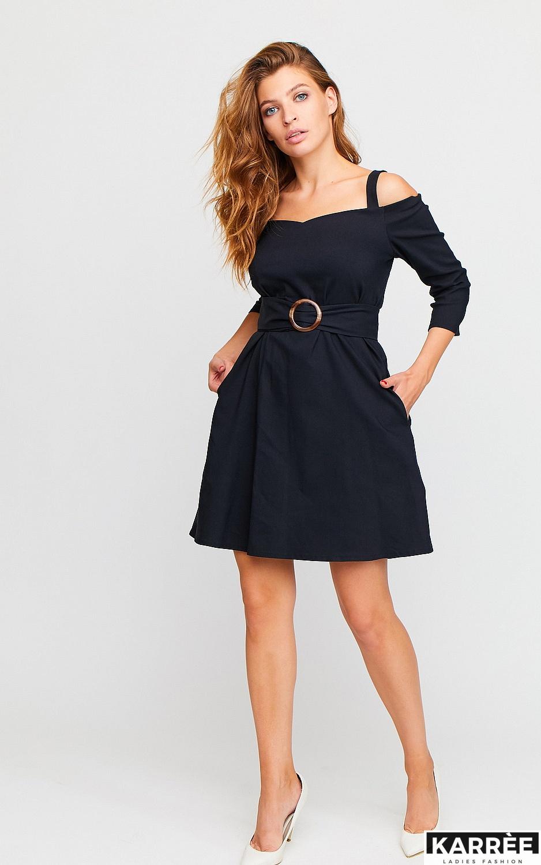 Платье Майя, Черный - фото 1