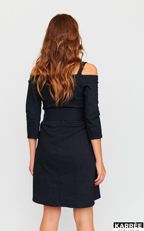 Платье Майя, Черный - фото 4