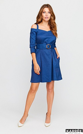 Платье Майя, Синий - фото 1