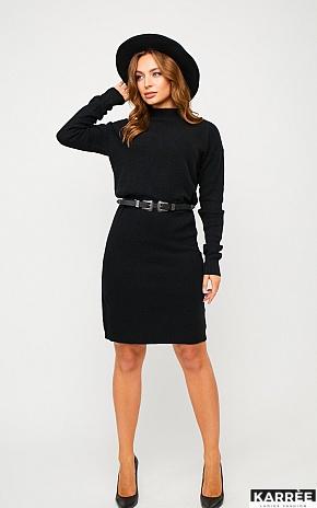 Платье Лора, Черный - фото 1