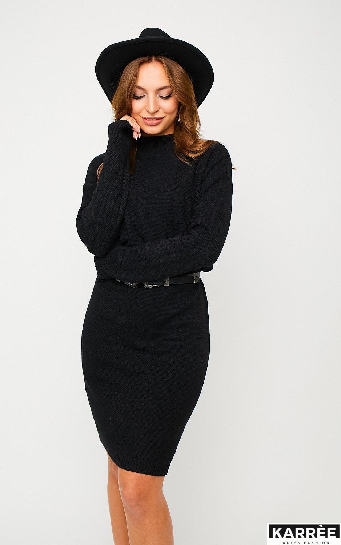 Платье Лора, Черный - фото 2