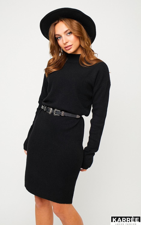 Платье Лора, Черный - фото 3