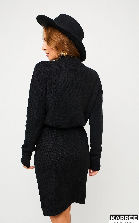 Платье Лора, Черный - фото 4
