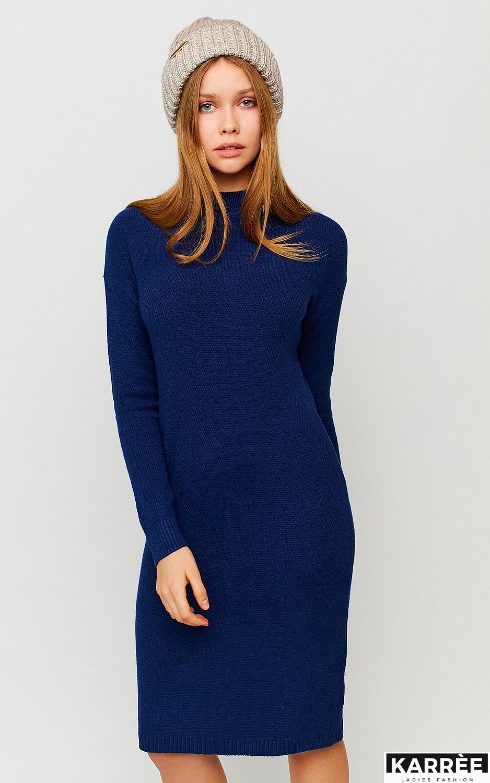 Платье Лора, Темно-синий - фото 3