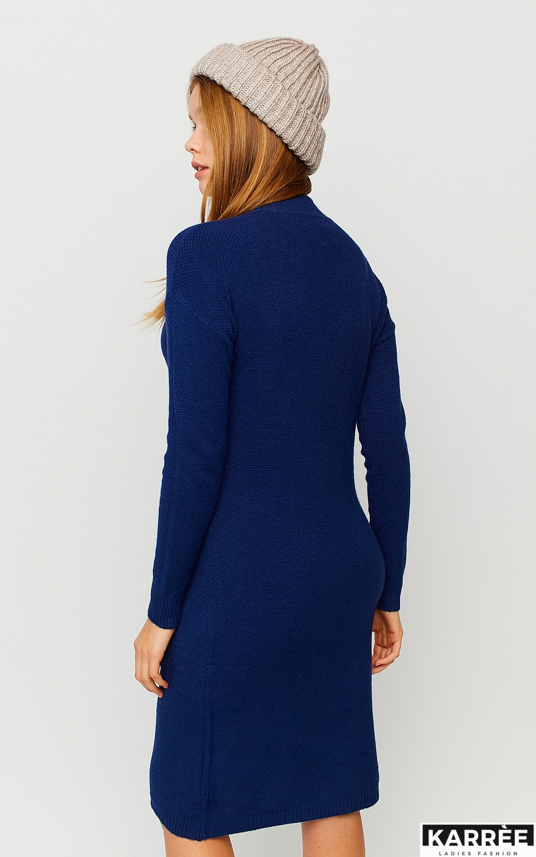 Платье Лора, Темно-синий - фото 4
