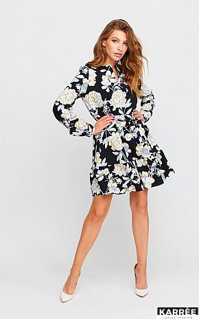 Платье Стрит, Черный - фото 1