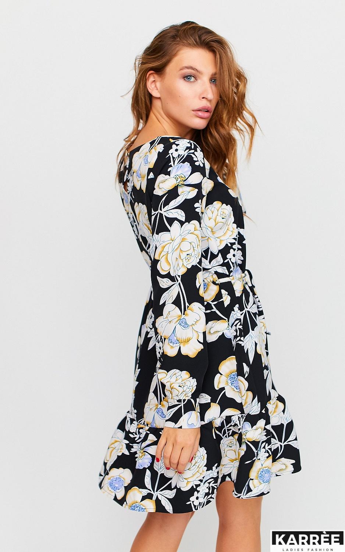 Платье Стрит, Черный - фото 4