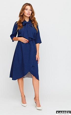 Платье Соната, Темно-синий - фото 1