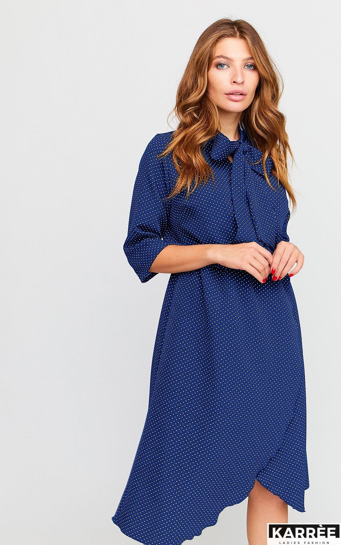 Платье Соната, Темно-синий - фото 2
