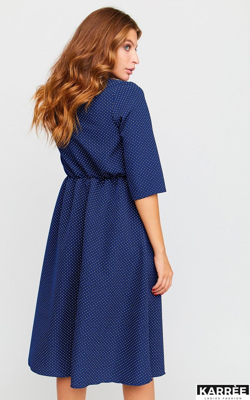 Платье Соната, Темно-синий - фото 3