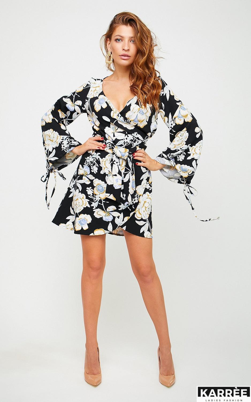 Платье Круиз, Черный - фото 2