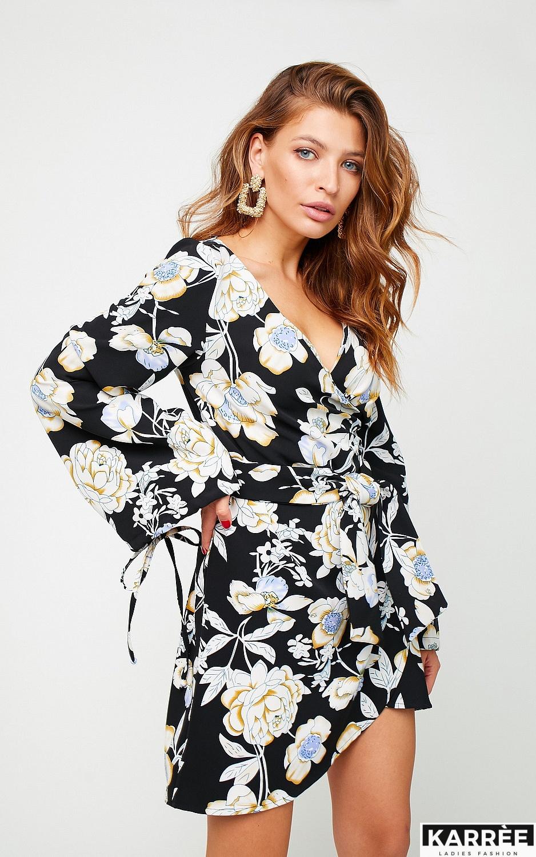 Платье Круиз, Черный - фото 3