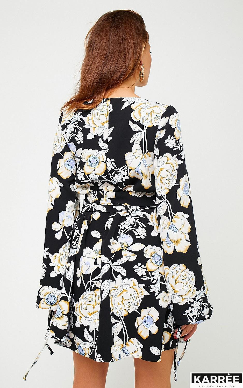 Платье Круиз, Черный - фото 4