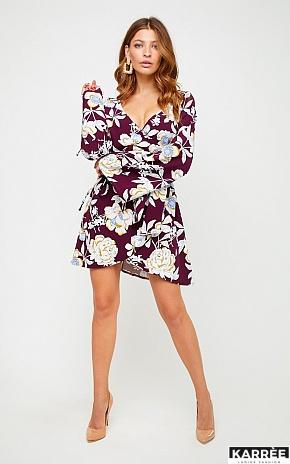 Платье Круиз, Марсала - фото 1