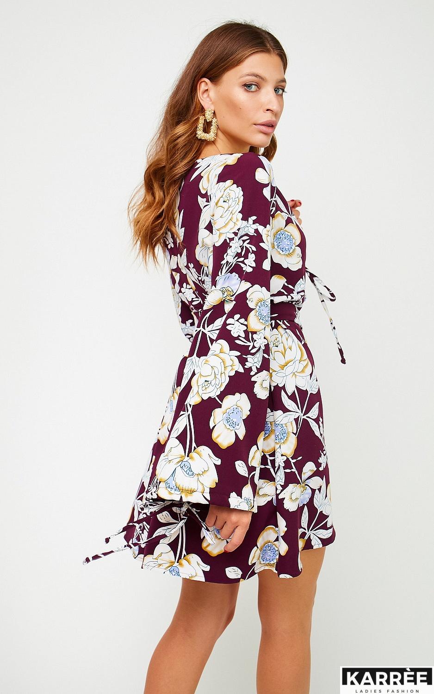 Платье Круиз, Марсала - фото 3
