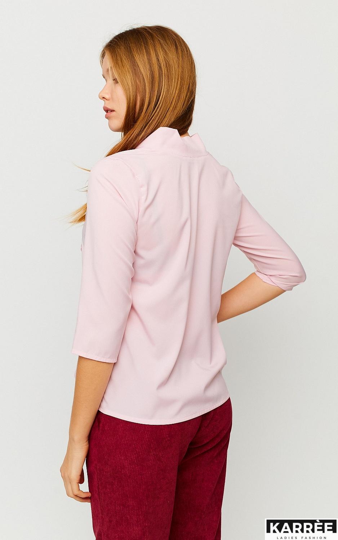 Блуза Глория, Пыльно-розовый