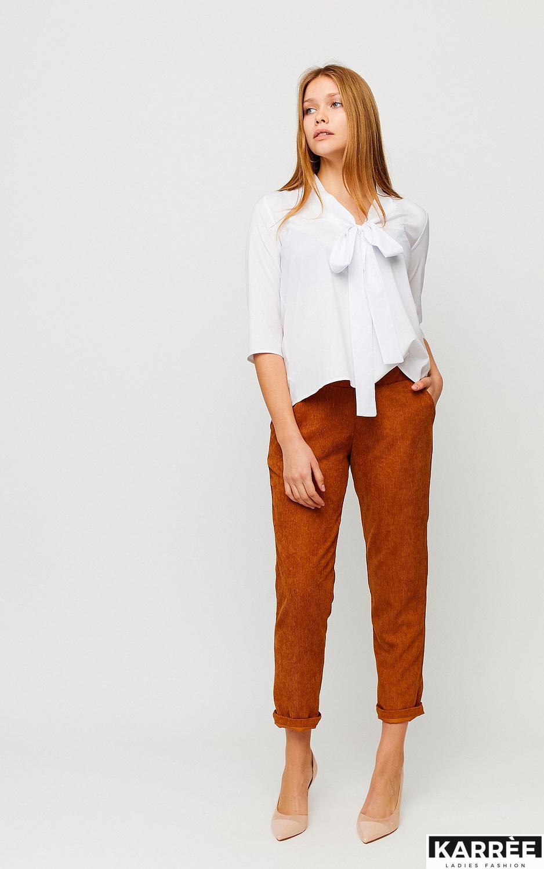Блуза Глория, Белый - фото 3
