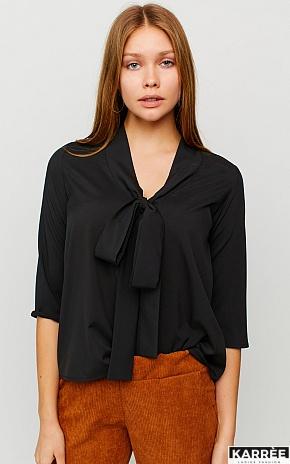 Блуза Глория, Черный - фото 1