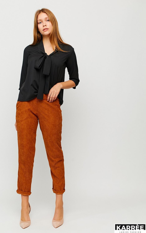 Блуза Глория, Черный - фото 3