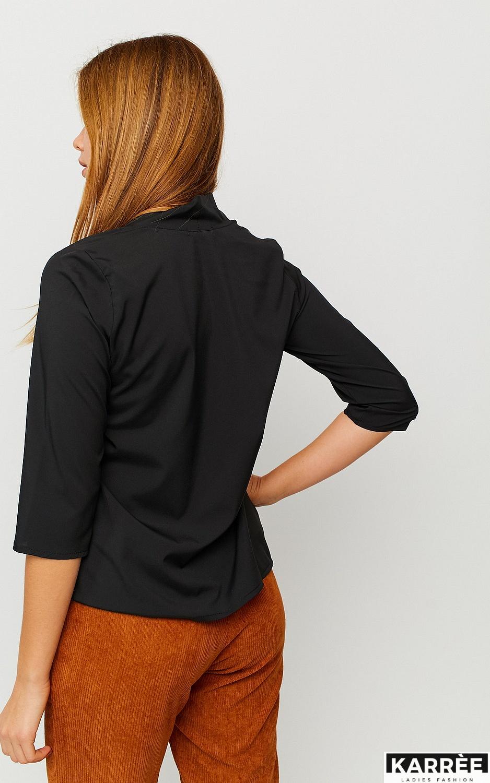 Блуза Глория, Черный