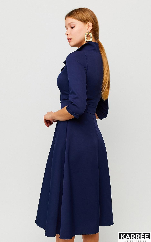 Платье Премиум, Темно-синий - фото 2